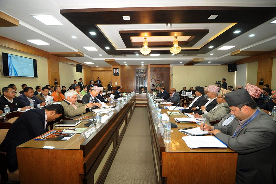 नेपाल भ्रमण वर्ष २०२० मूल आयोजक समितिको तेस्रो बैठक सम्पन्न(२०७५ चैत २७)। (तस्वीर)