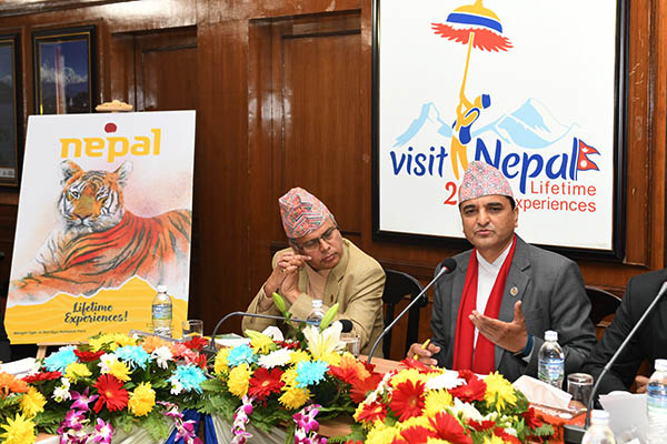 Meeting with foreign Diplomatic Missions and Development Partners in Kathmandu regarding Visit Nepal Year 2020- (Photographs) 04 December 2019