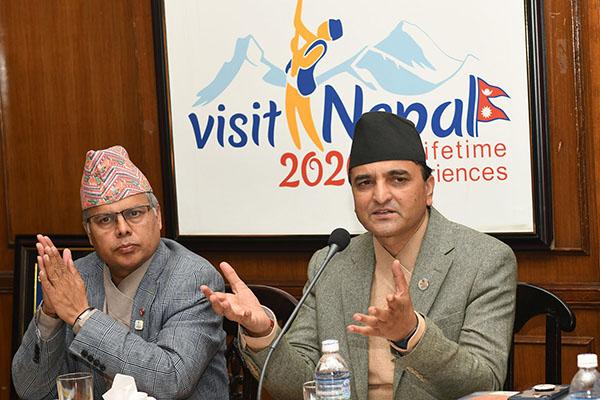 नेपाल भ्रमण बर्ष २०२० का सन्दर्भमा बौद्ध धर्मसँग सम्बन्धित संघ संस्थाका प्रतिनिधिहरुसँग अन्तरक्रिया- तस्वीर (२०७६-०८-२५)
